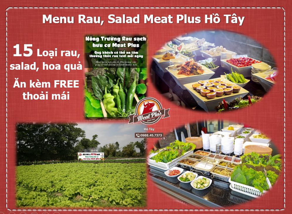 Menu pancha Meat Plus