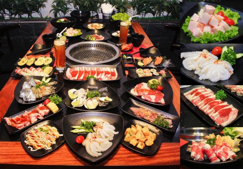 Các món nướng phong cách Nhật bản tại Yamato