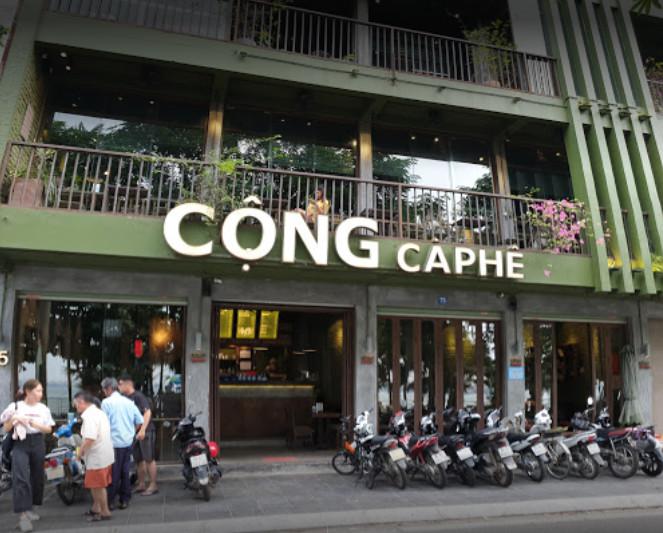 Cộng cà phê - Một chút hoài cổ ẩn mình giữa Hà Nội náo nhiệt