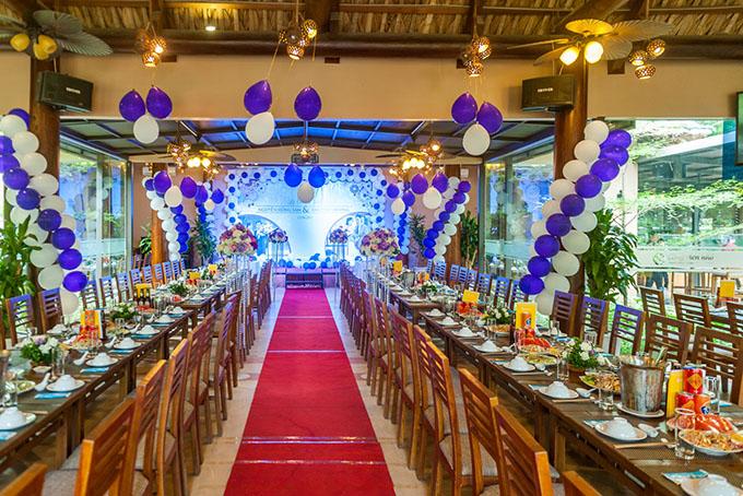 Phòng Phượng hoàng rộng rãi, thích hợp để tổ chức tiệc cưới, tổ chức liên hoan cuối năm