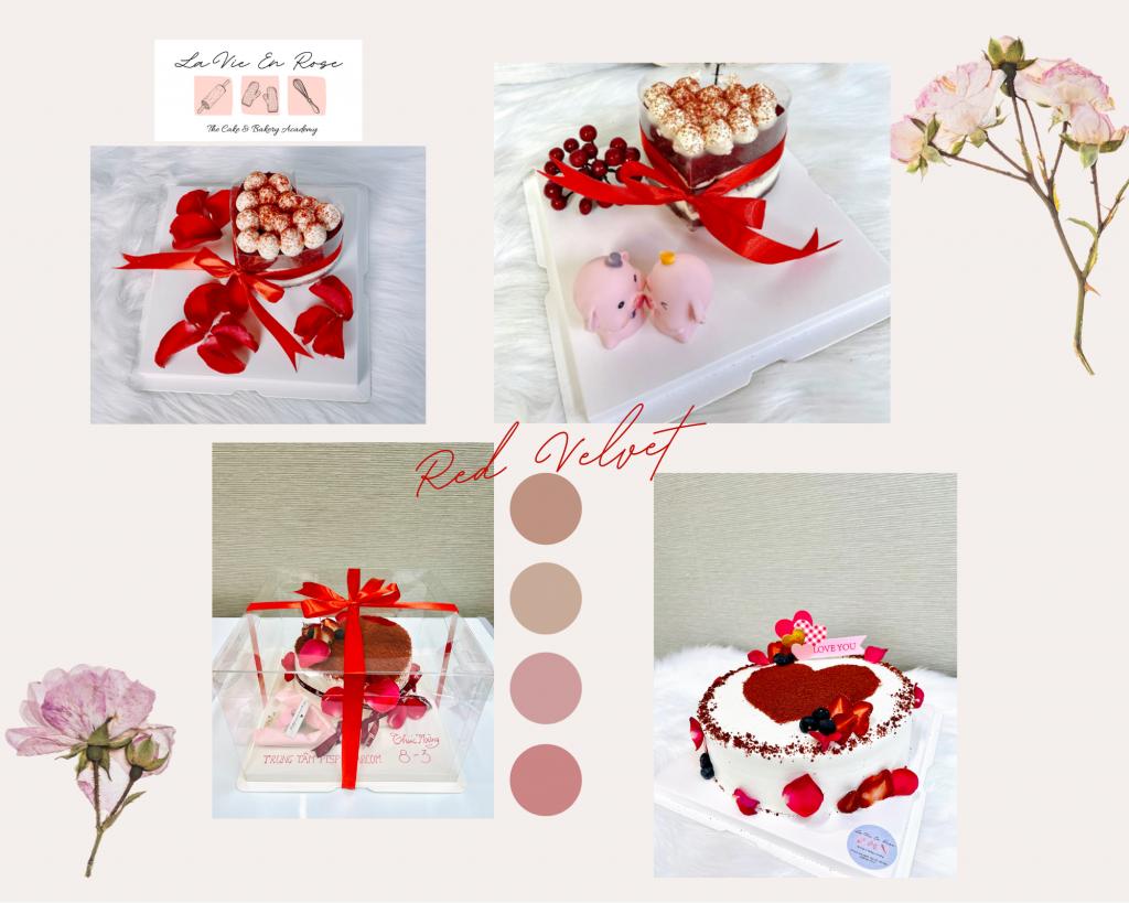Red Velvet Cake của La Vie En Rose Hà Nội