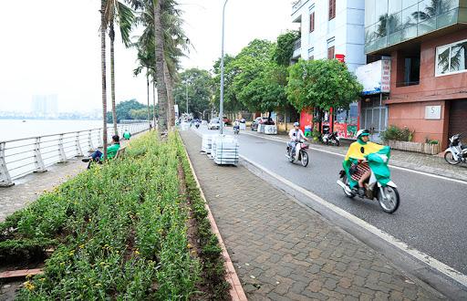 Đường Trích Sài còn rất thuận tiện đi lại kết nối với các khu vực trung tâm của thủ đô.