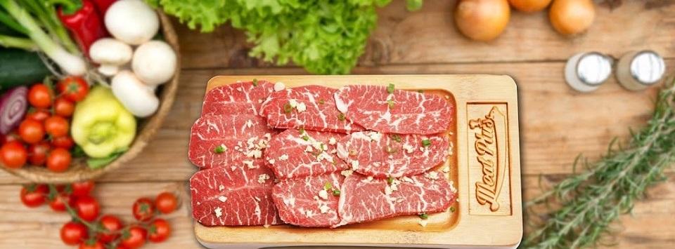 """Meat Plus Hồ Tây giúp thực khách lấy lại năng lượng, tăng thêm sức đề kháng, sức khỏe bằng """"vitamin thịt"""" siêu cấp."""