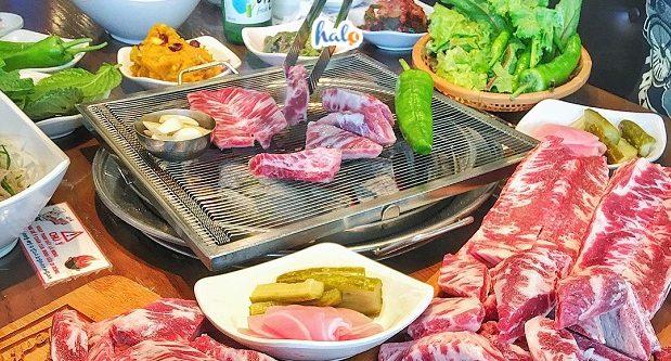 Tại Meat Plus Hồ Tây, cải Chonga cũng như mọi loại rau khác đều đảm bảo sạch 100% từ quy trình chế biến cho tới khi phục vụ
