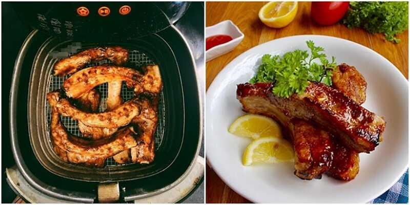 Nướng thịt bằng nồi chiên không dầu cần chú ý đặt thời gian và nhiệt độ thích hợp