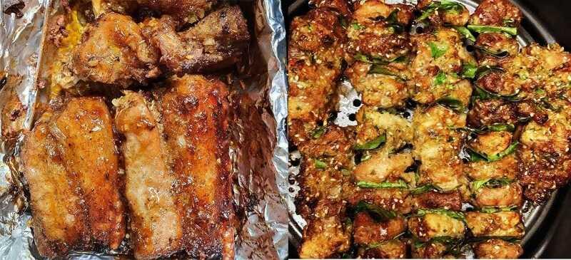 Nướng bằng giấy bạc giúp thịt giữ được độ ẩm, mọng, khi ăn không bị khô và dai.
