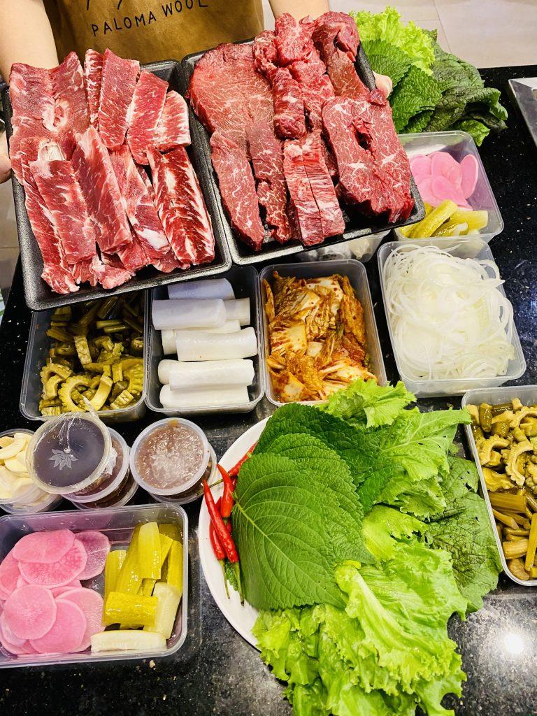 Menu ship thịt nướng Meat Plus Hồ Tây